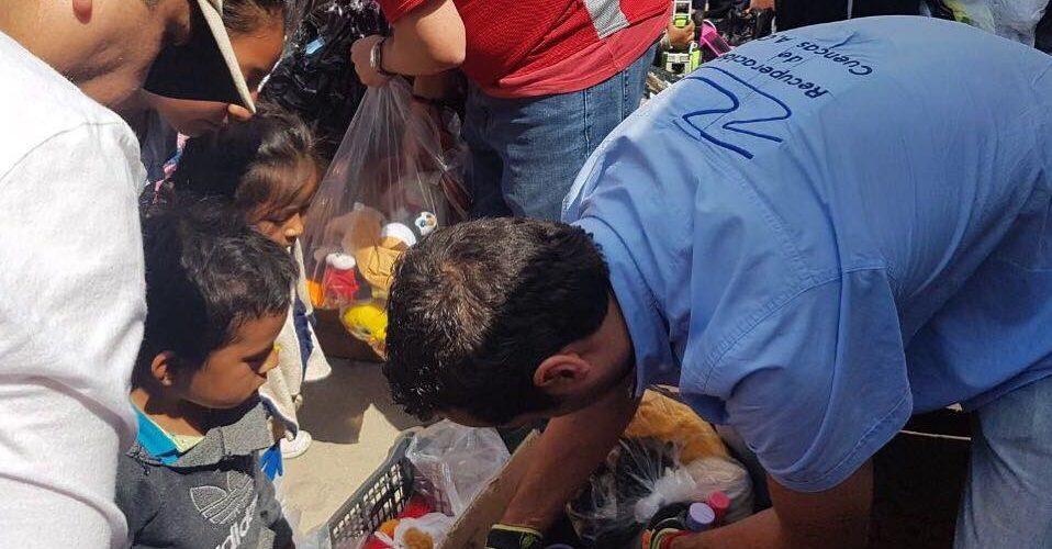 VÍNCULO CENTRO DE ACOPIO Y BRIGADAS </br> Mano a Mano&#8230;voluntario con damnificado