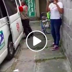 CANALIZACIÓN A SAN GREGORIO </br> Mano a mano&#8230;Voluntario con damnificado